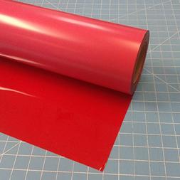 "Siser Easyweed Red 15"" x 3 Iron on Heat Transfer Vinyl Roll"