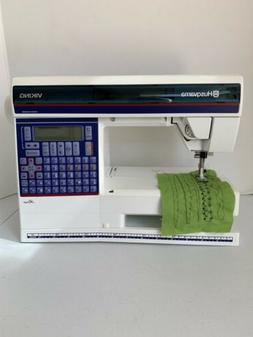 HUSQVARNA VIKING ROSE EMBROIDERY AND SEWING MACHINE WITH CAS