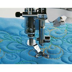 Brother SA187 Sewing Machine Open Toe Foot Metal New