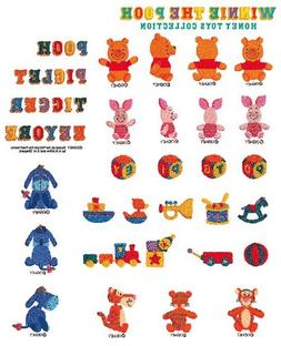 Brother SA313D Winnie the Pooh Toy Collection Emb Card