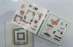 Brother Scrapbooking Embroidery Machine Memory Card # 74  NE