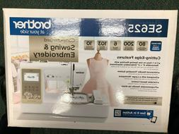 Brother SE625 Computerized Sewing and Embroidery Machine Bra