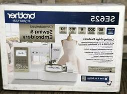 Brother SE625 Computerized Sewing and Embroidery Machine FAS