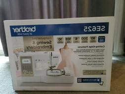 Brother SE625 Computerized Sewing and Embroidery Machine - N