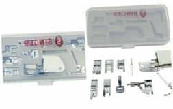| Sewing Machine Accessory Kit, Including 9 Presser Feet, Tw