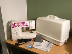BROTHER SEWING MACHINE LS2000 With HARD PLASTIC COVER & ACCE