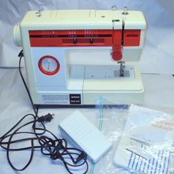 Brother Sewing Machine Model VX-810 With Manual, Foot Pedal