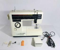 Brother Sewing Machine Model VX-950 W/ Peddle & Manual Works