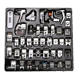 WElinks 42pcs Professional Sewing Machine Presser Feet Set,M