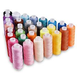 Candora Wholesale Sewing Thread Coil 30 Color 250 Yards Each