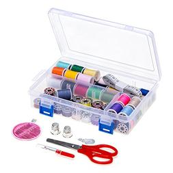 NEX Sewing Thread Set 64 PCS Assorted Sewing Threads with Bo