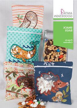Snack Bags Anita Goodesign Embroidery Machine Design CD NEW