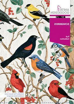 Anita Goodesign Song Birds Embroidery Machine Design CD NEW