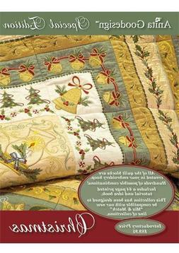 Anita Goodesign Special Edition Christmas Quilting Embroider