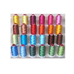 SPRING 24 CONES POLYESTER MACHINE EMBROIDERY THREAD THREADEL