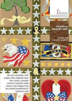 Support The Troops Anita Goodesign Embroidery Machine Design