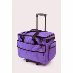 Bluefig TB19 Sewing & Embroidery Machine Case Trolley Purple
