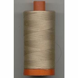 thread 2314 beige cotton mako 50 wt