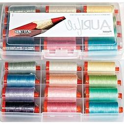 Aurifil Thread Set Pastel Collection 50wt Cotton 12 Large  S