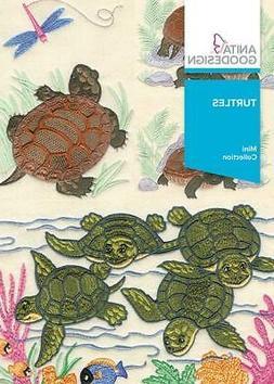 Turtles Anita Goodesign Embroidery Machine Design CD
