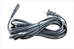 OMNIHIL Universal  2 Prong 2 Pin Power Cord  18AWG CE/BS/SAA