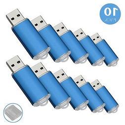 RAOYI 10Pack 1GB 1G USB Flash Drive USB 2.0 Memory Stick Bul