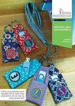 USB Lanyard Companions Anita Goodesign Embroidery Machine De