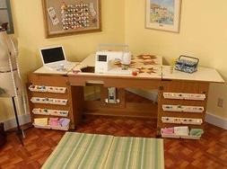 VIKING Designer Diamond Sewing Cabinet - Bertha by ARROW in