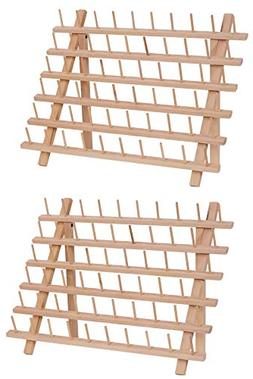 New ThreadNanny Wooden Thread Rack for Sewing - Quilting - E
