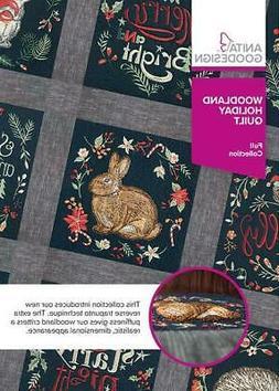 Woodland Holiday Quilt Anita Goodesign Embroidery Machine De