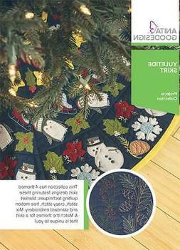 Yuletide Skirt Anita Goodesign Embroidery Machine Design CD